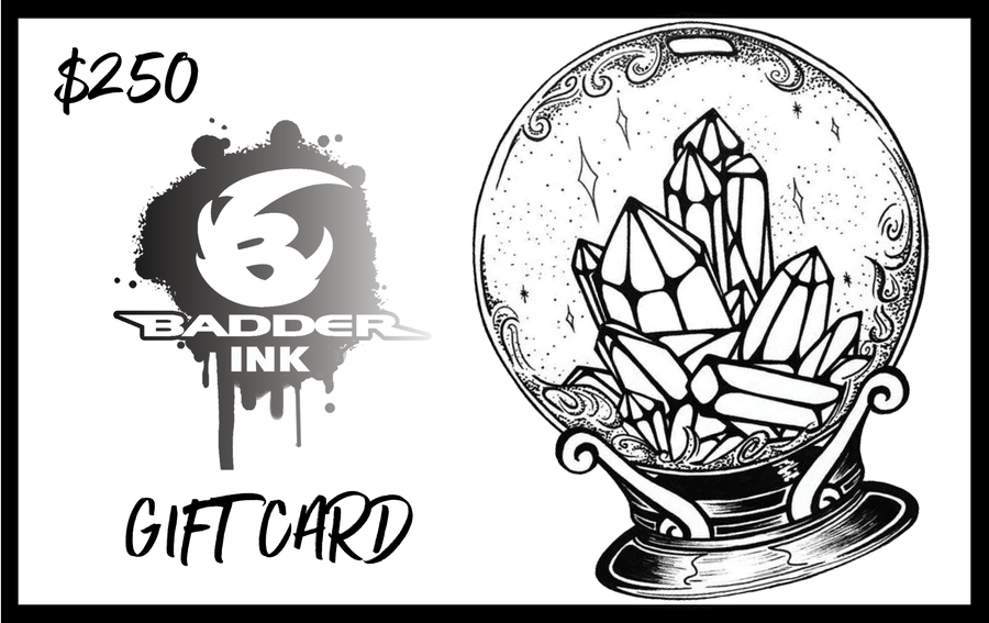 Image of $250 Badder Ink Gift Card