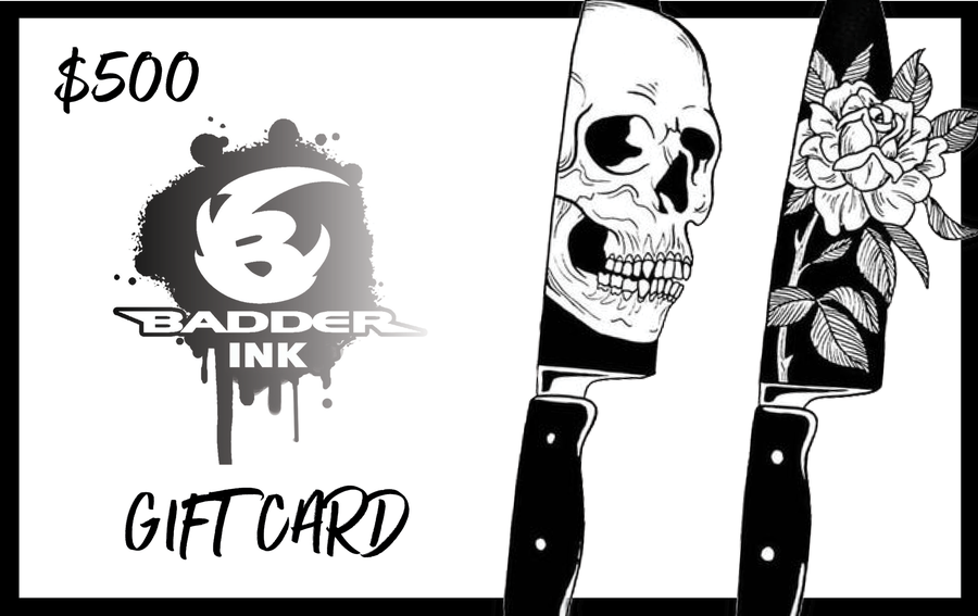 Image of $500 Badder Ink Gift Card