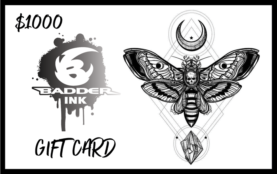 Image of $1000 Badder Ink Gift Card