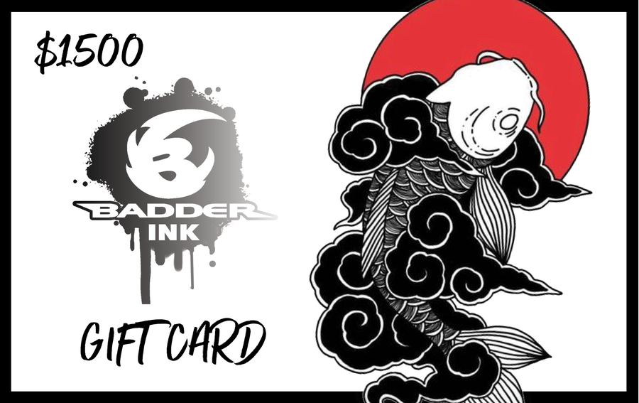 Image of $1500 Badder ink card