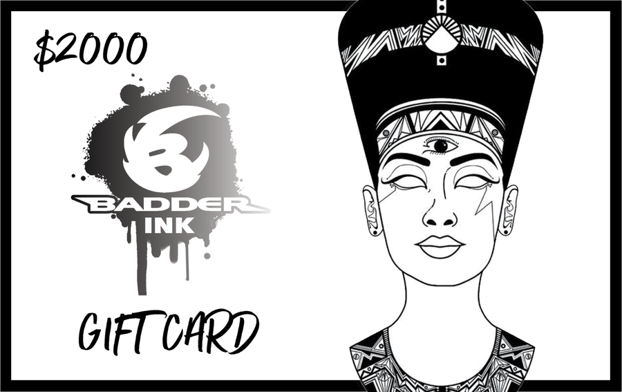 Image of $2000 badder ink gift card