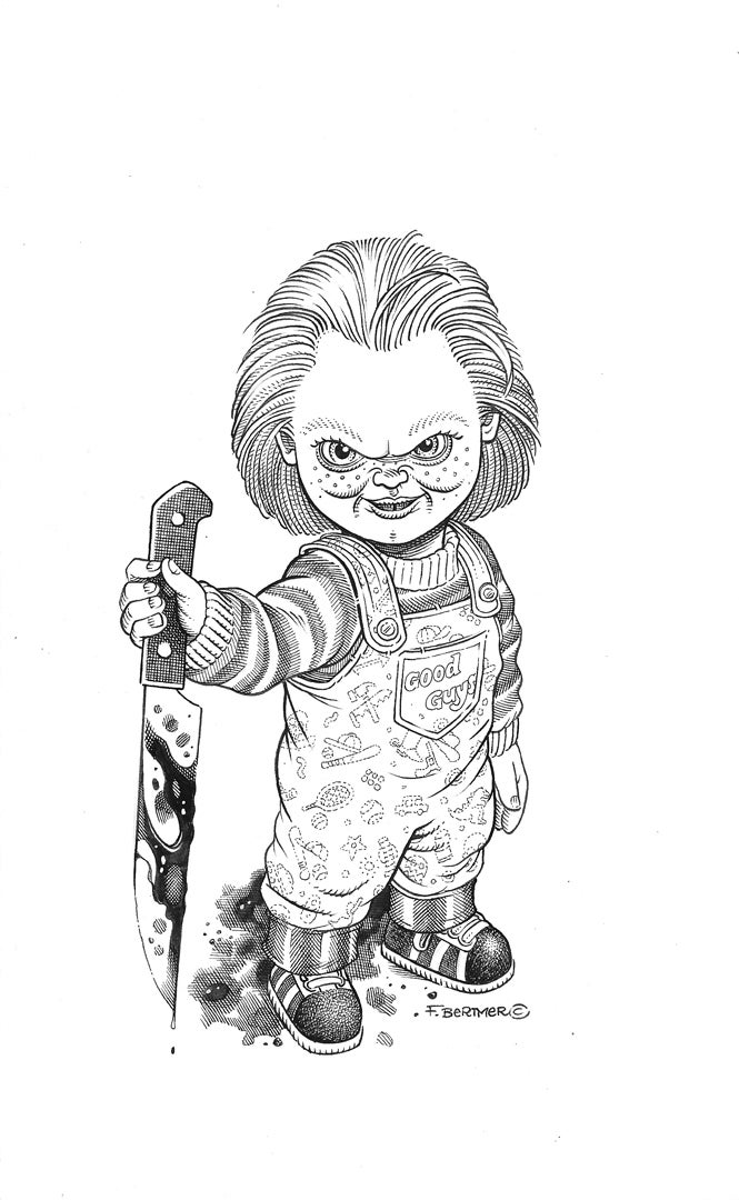 Image of Chucky - Original Art