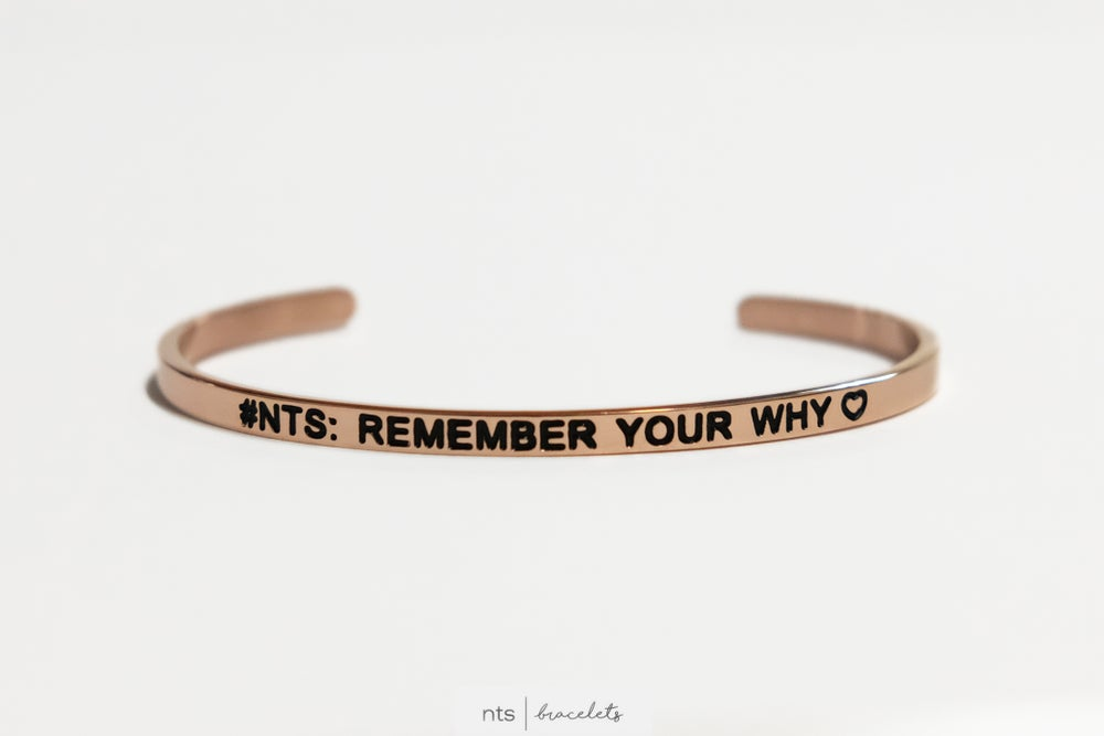 Image of COLLAB BRACELET WITH KATY B PNP <3 (LIMITED EDITION + Rose Gold)