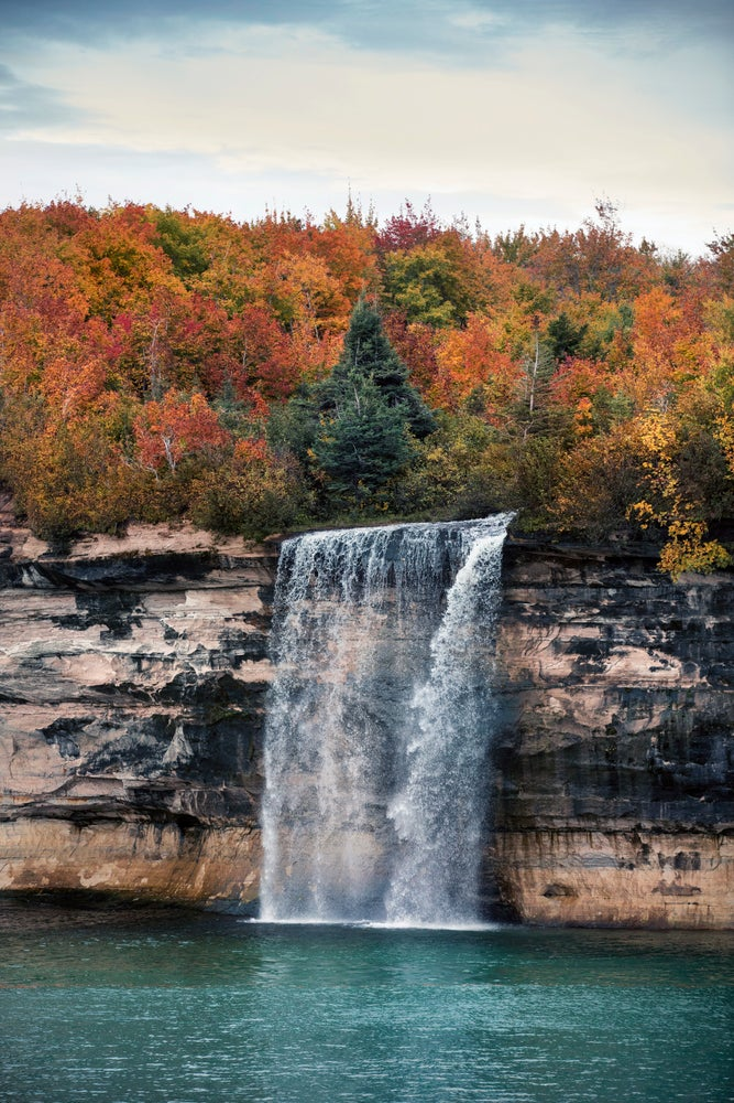 Image of Spray Falls