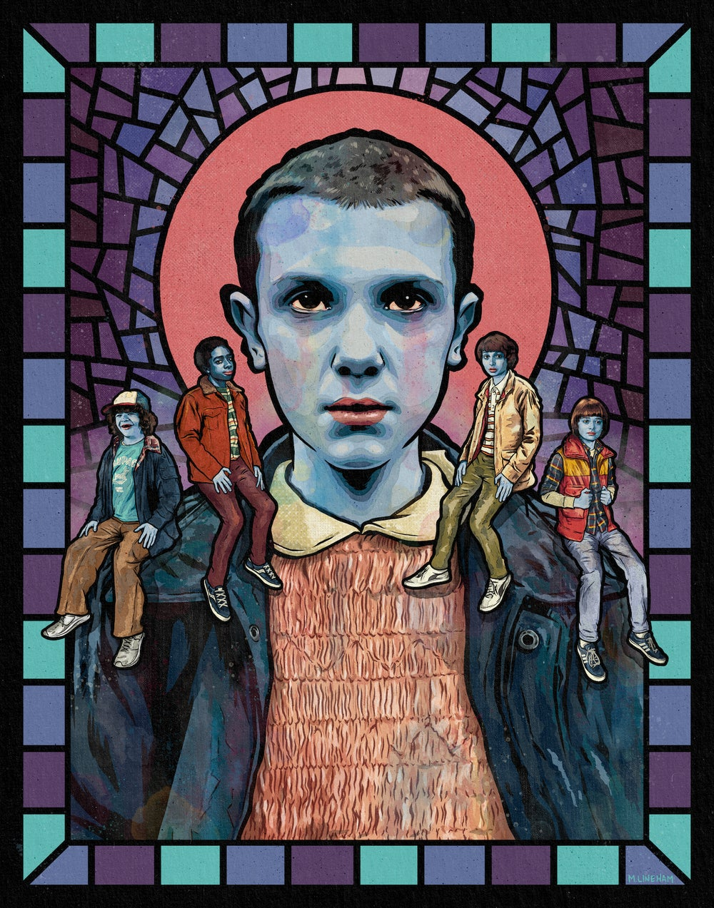Saint Eleven –11x14 Print