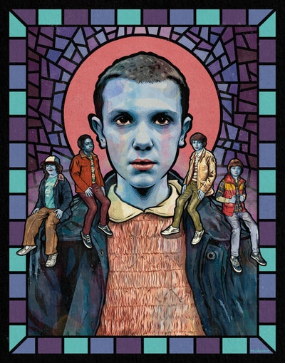 Image of Saint Eleven (Stranger Things)