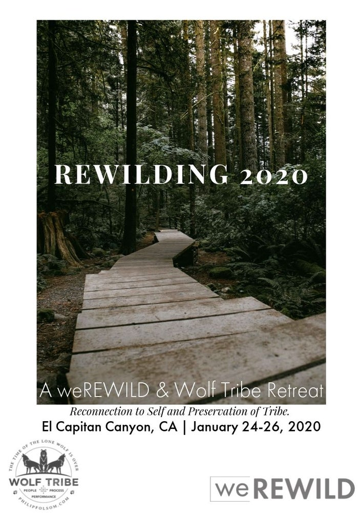 Image of Rewilding 2020 Retreat - Dire Wolf (Cabin with bunks, sleeps 4) DEPOSIT