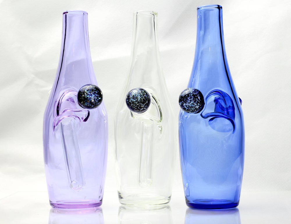 Image of GG Saki Bottle + Worked Marble