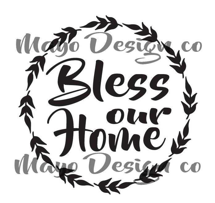 Image of Bless our Home SVG