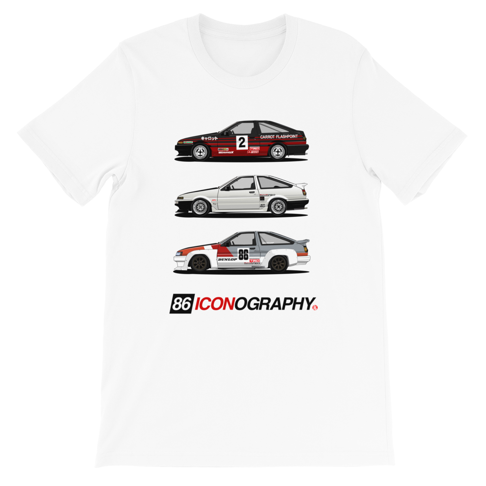 "Image of 5586 ""86 Iconography"" T Shirt"