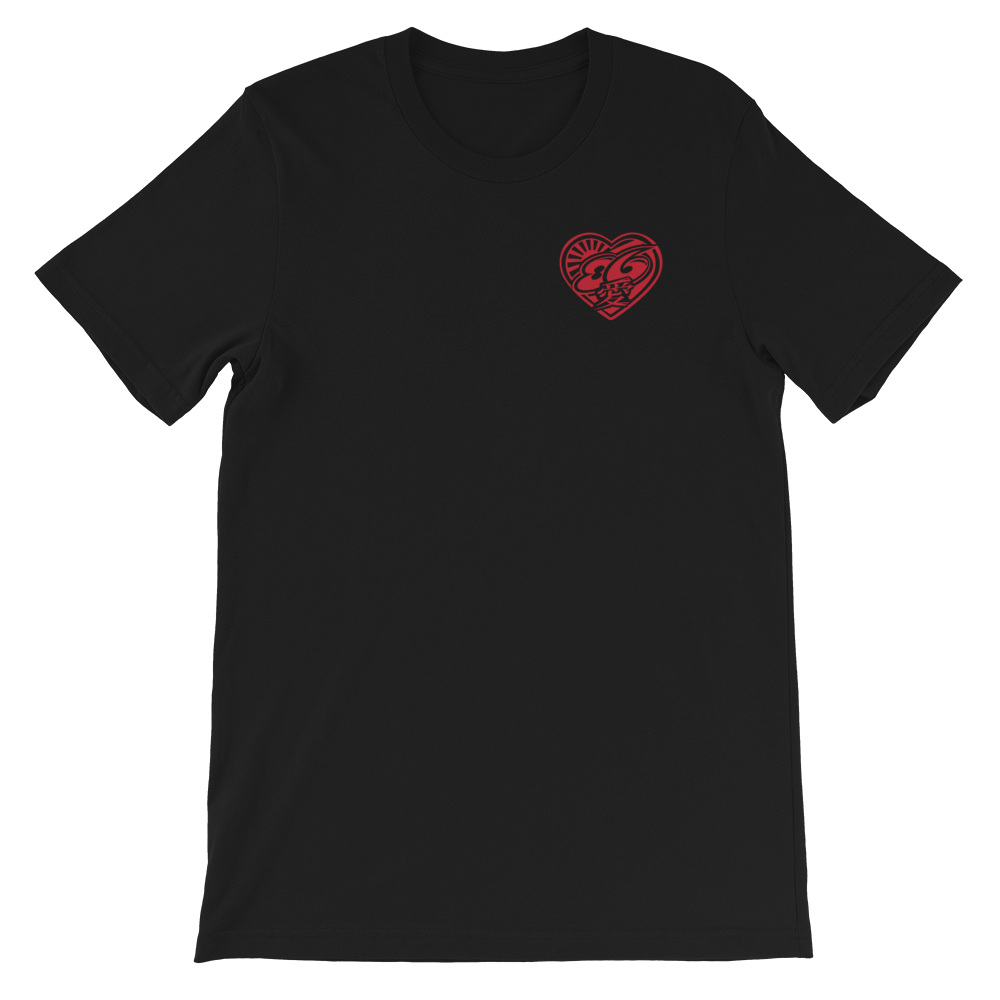 "Image of 5586 ""86 HEART"" T Shirt"