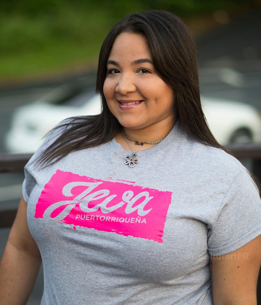 Image of JEVA Puertorriqueña (T-Shirt)