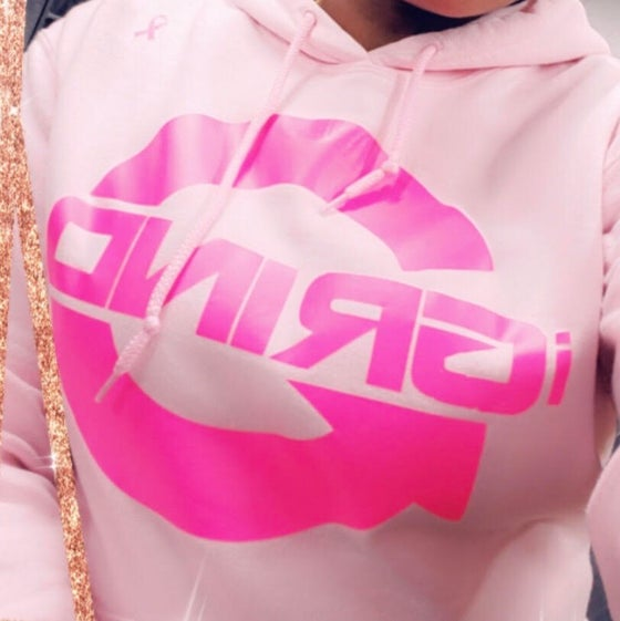Image of IGRIND BREAST CANCER HOODIE