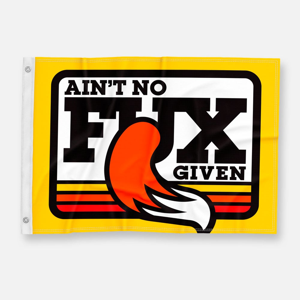 Image of NO FUX FLAG