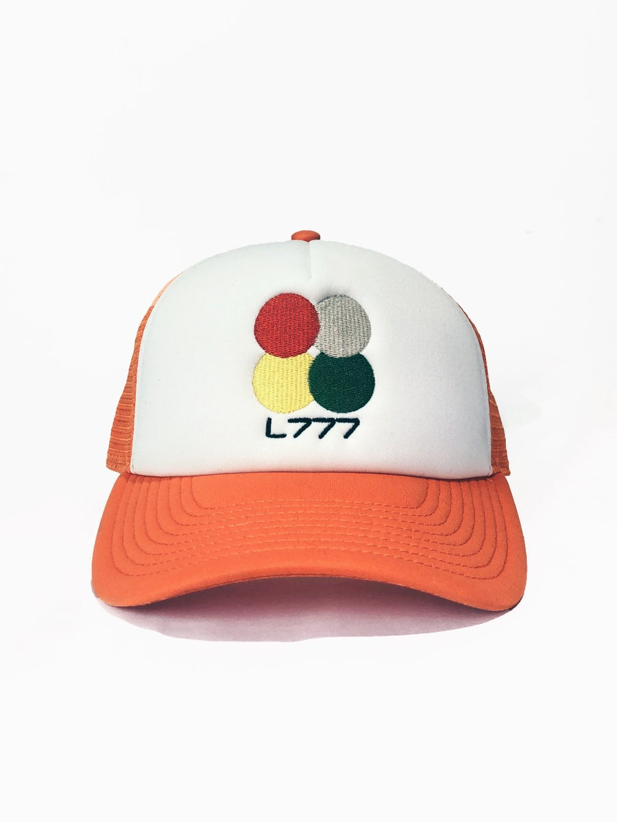 Image of L777 CC CAP (ORANGE/WHITE)