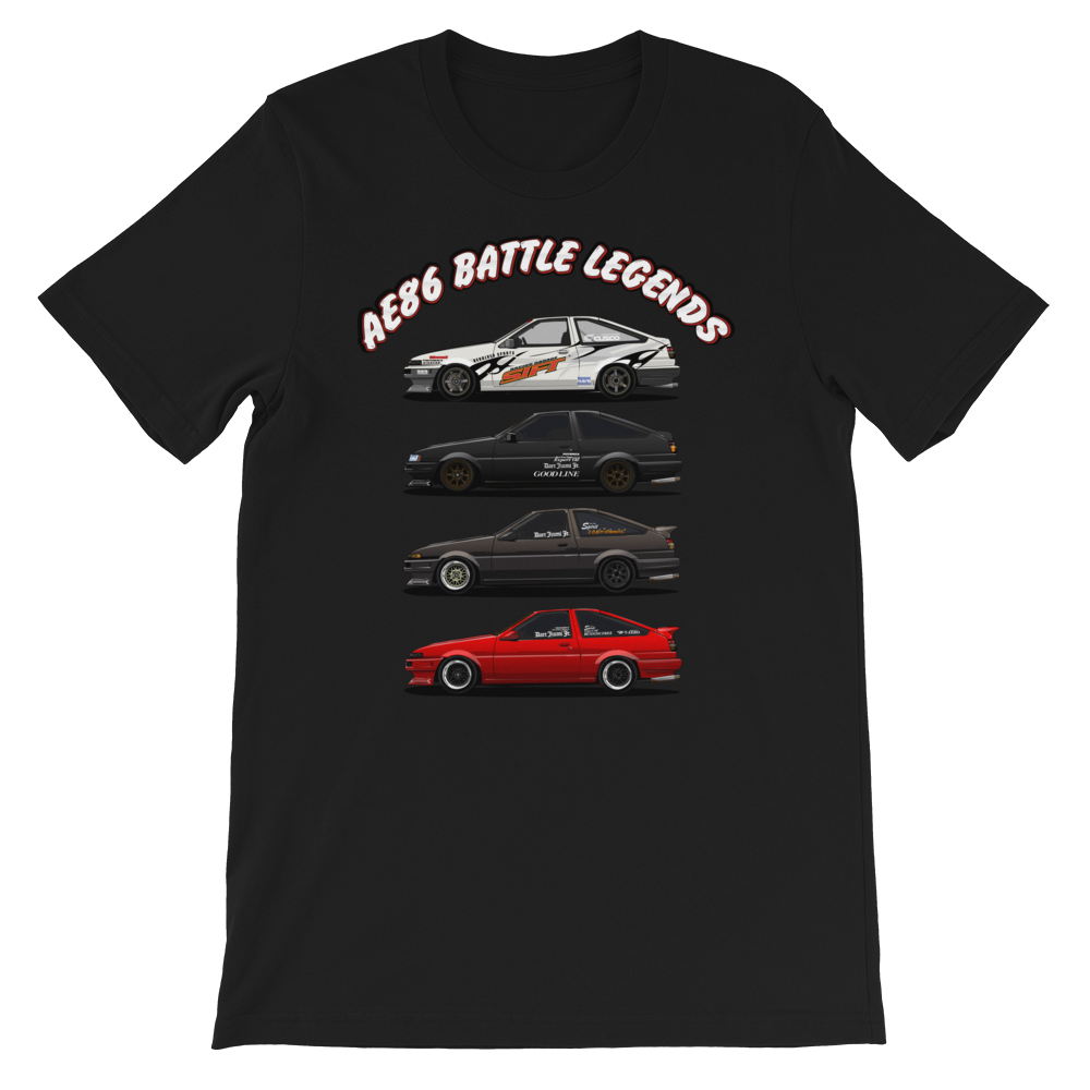 "Image of 5586 ""AE86 BATTLE LEGENDS VOL. 1"" T Shirt"