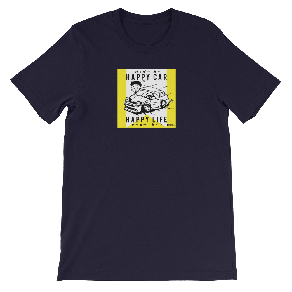 "Image of SOUL LEGACY ""HAPPY CAR HAPPY LIFE"" T Shirt"