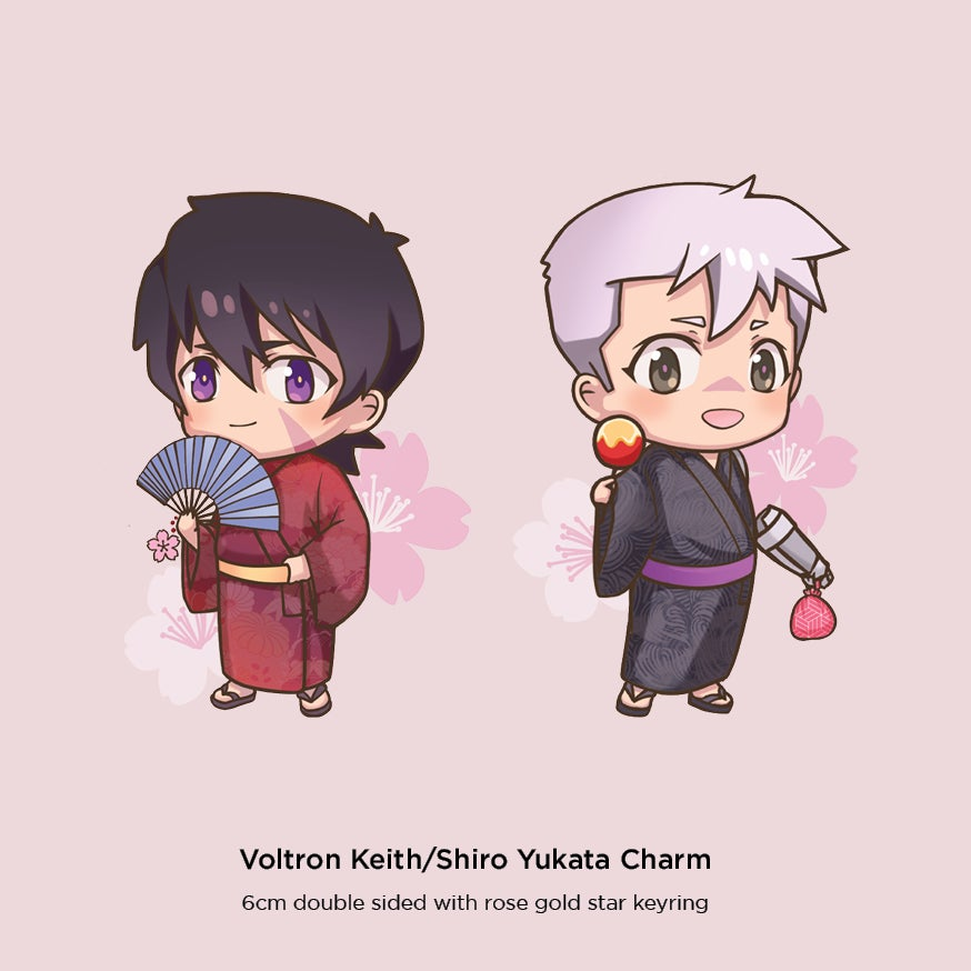 Image of Voltron 6cm Charms