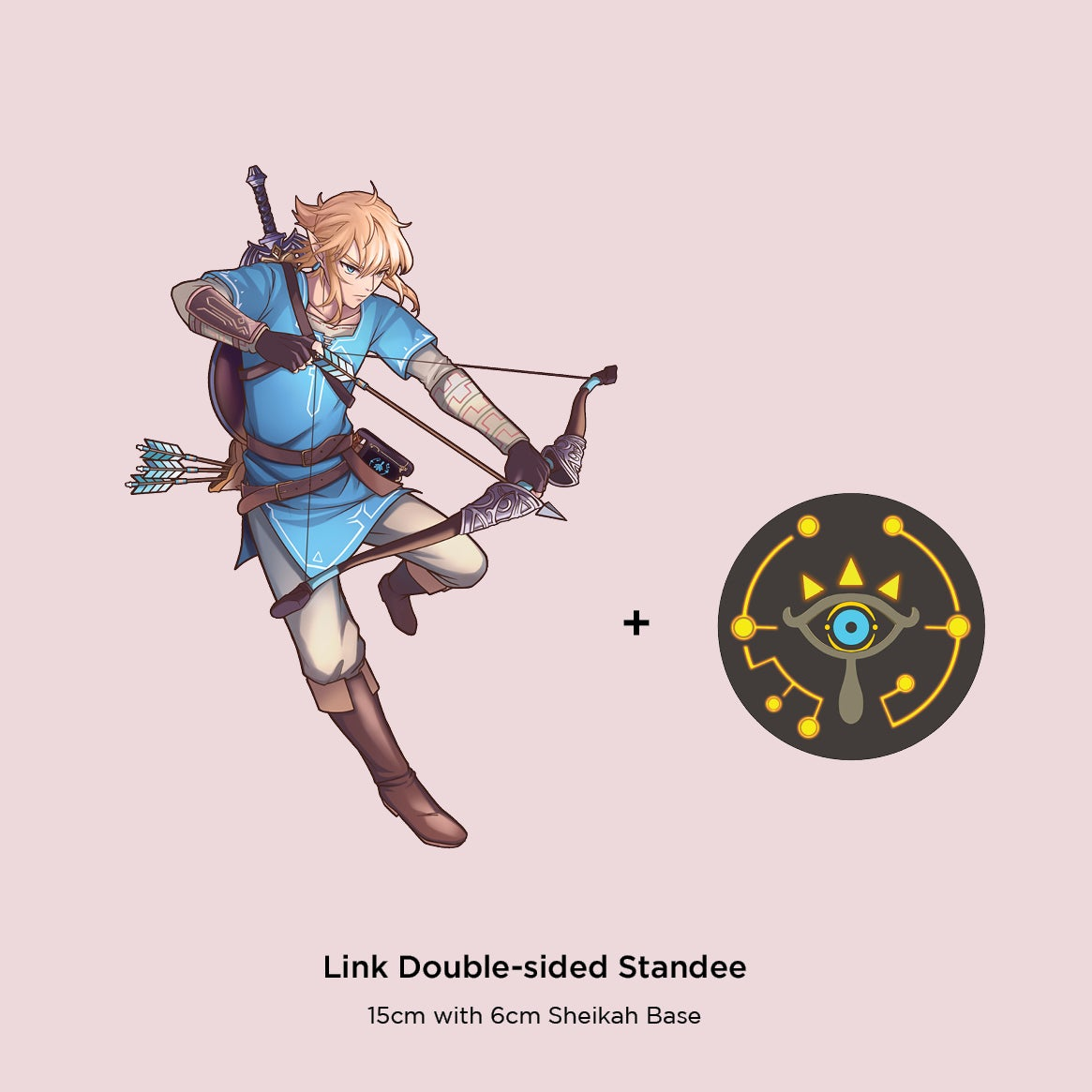 Image of Link: Breath of the Wild 15cm Standees