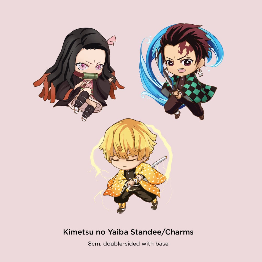 Image of Kimetsu no Yaiba Standee/Charms