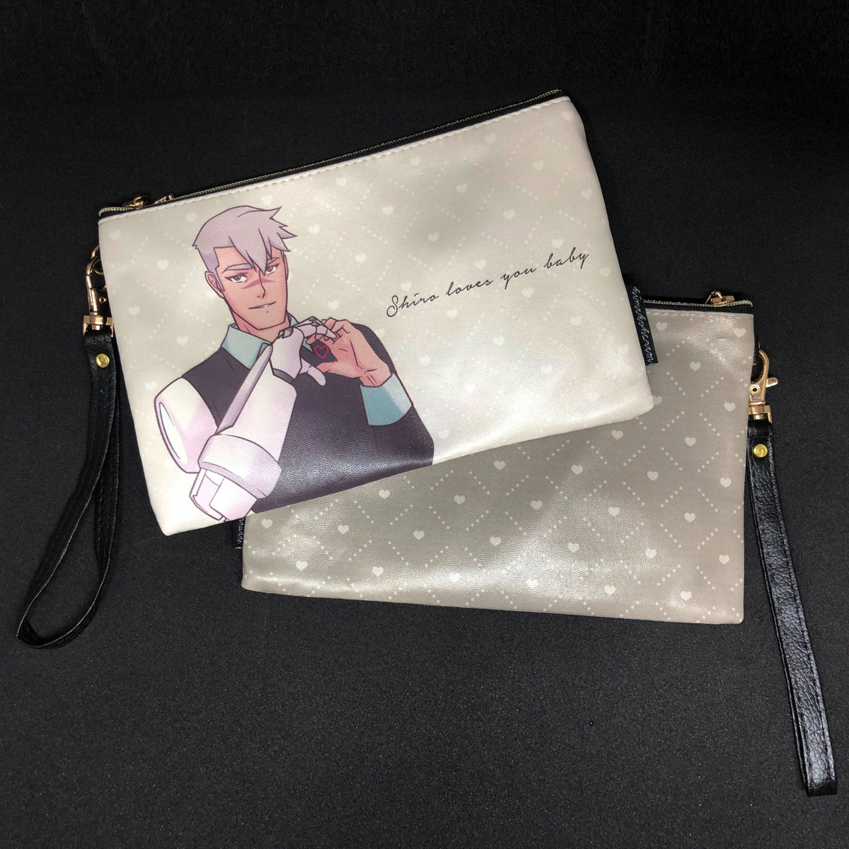 Image of Voltron PU Leather Pouches with Low-key Motivational Quotes