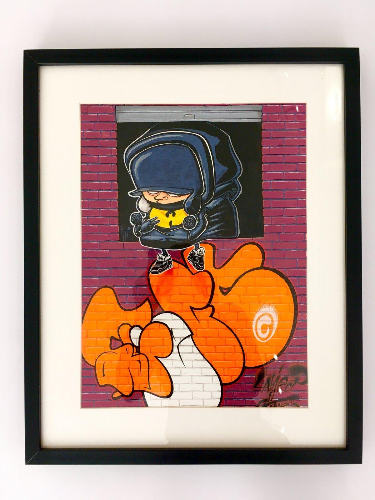 """Image of Repro. """"The Bronx"""" Encadrée Signée Numérotée"""