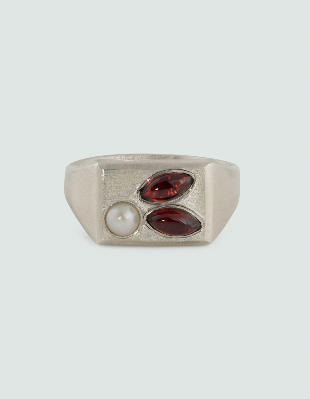 Image of AWAKENED GARNET RING