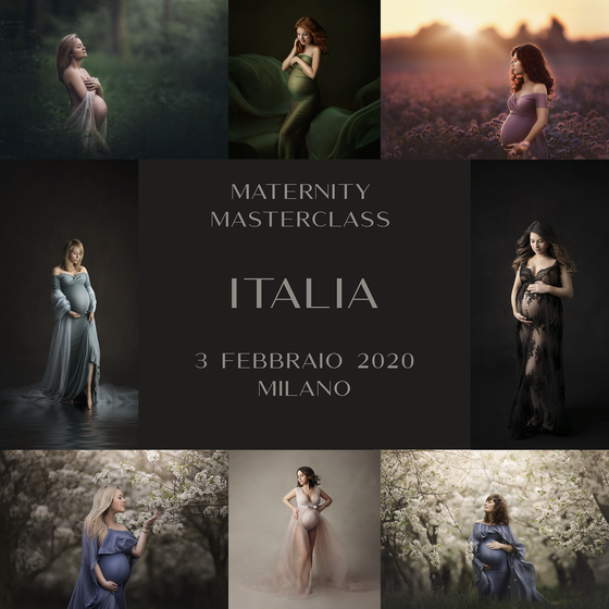 Image of ❌ POSTPONED DUE TO COVID-19 ❌ MATERNITY MASTERCLASS - MILANO FEBRUARY 3RD 2020