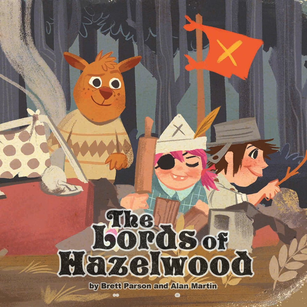 Image of Lords of Hazelwood - Tank Girl Children's Book
