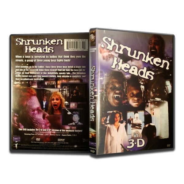 Image of Shrunken Heads (DVD)