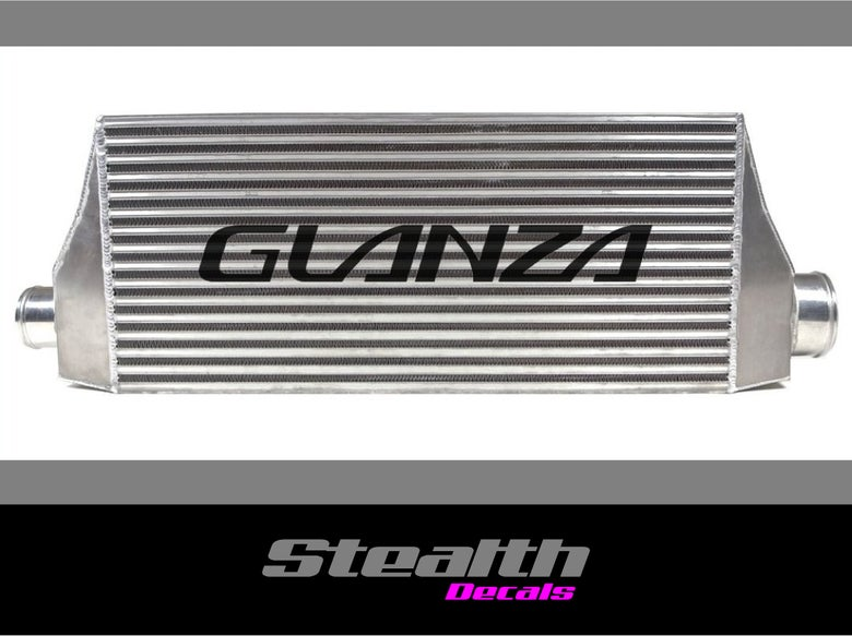 Image of GLANZA Intercooler stencil