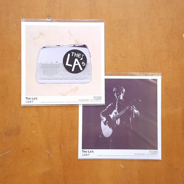 Image of The La's 1987 Limited Edition Prints