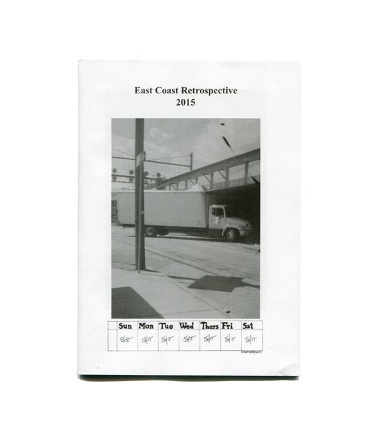 Image of East Coast Retrospective Zine - Daniel Niles