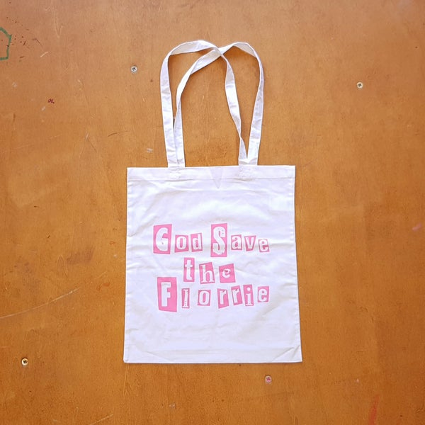Image of God Save The Florrie Tote Bag