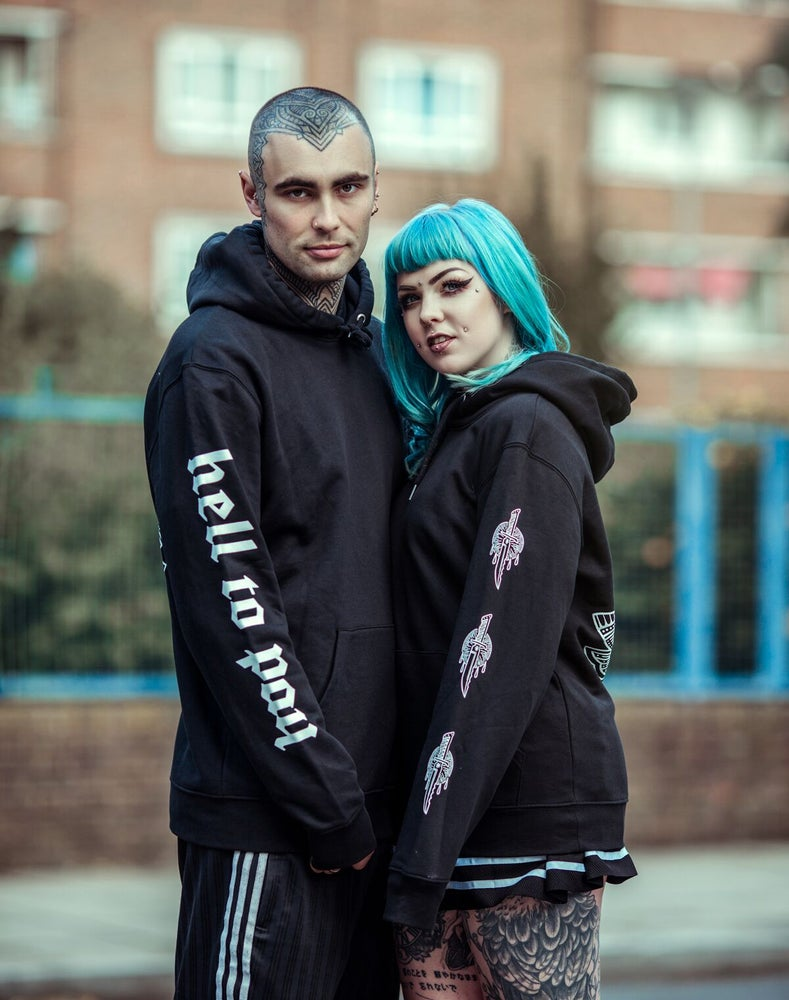 Image of UNISEX PULL-OVER HOODIE