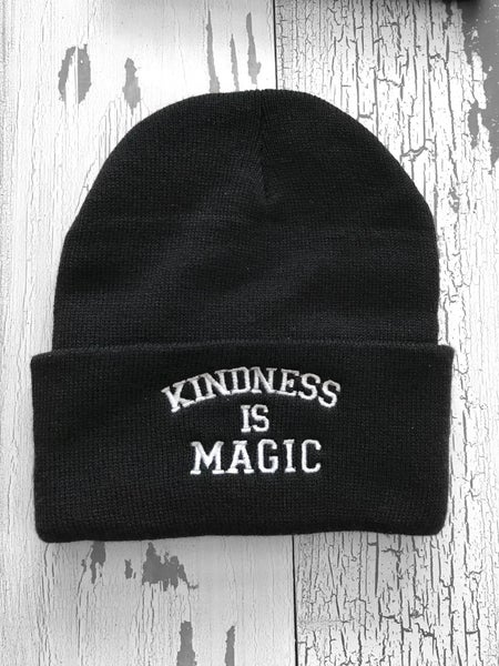 Image of Kindness is magic beanie
