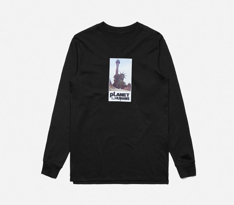 Image of Planet Of The Humans Long Sleeve Tee