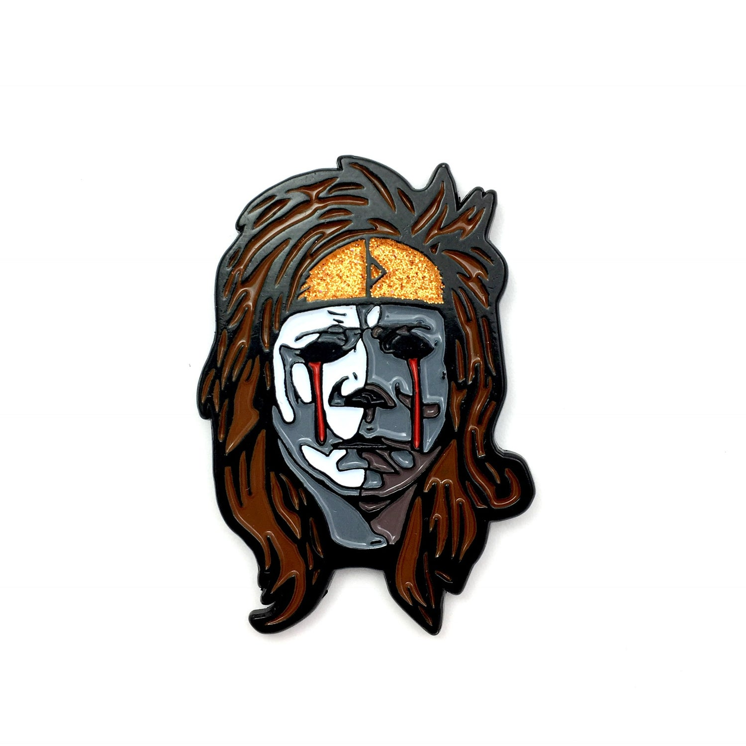 Image of Hair Metal Myers (Enamel Pin)