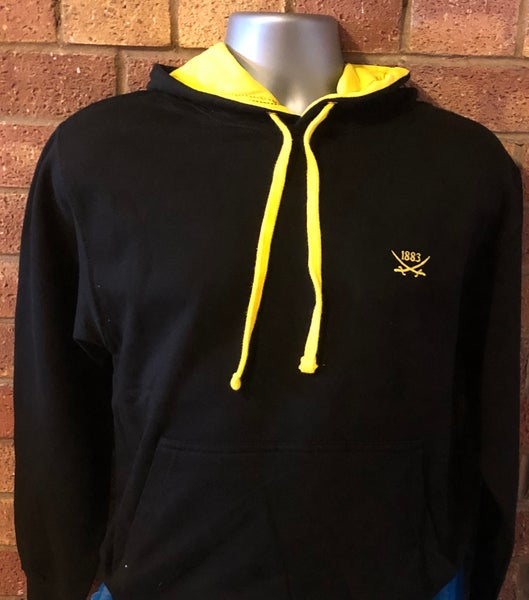 Image of Black and Yellow Hoodie