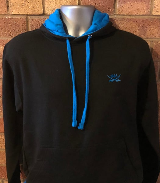 Image of Black and Blue Hoodie