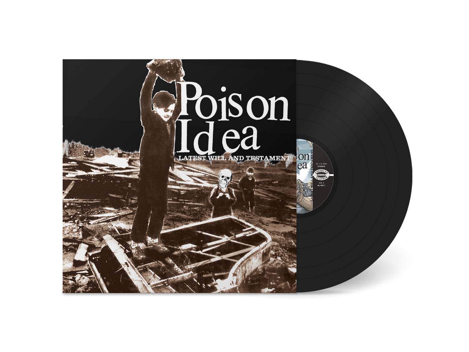 "Image of POISON IDEA - ""Latest Will And Testament"" LP (180g)"