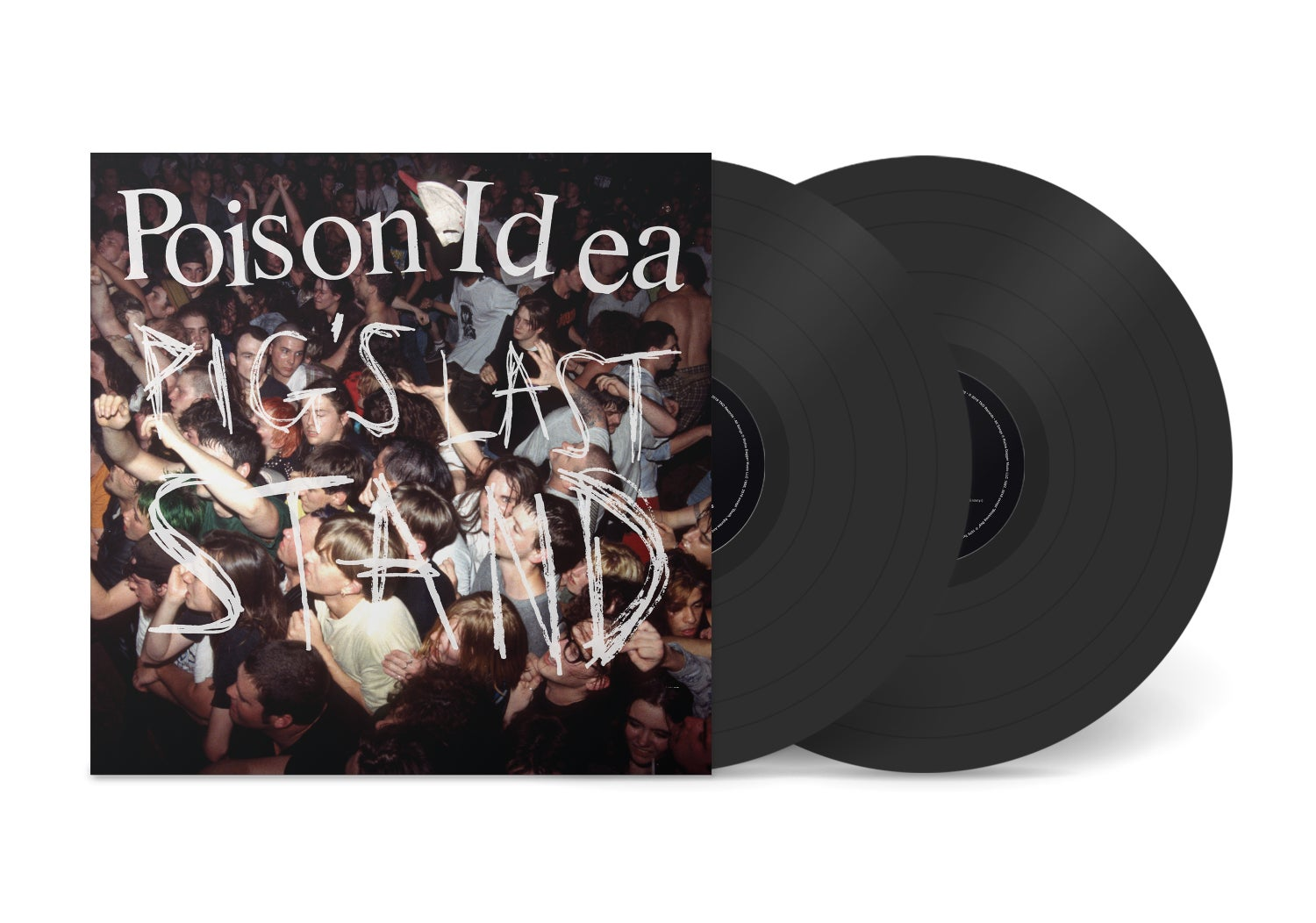 """Image of POISON IDEA - """"Pig's Last Stand"""" 2xLP w/Poster & DVD"""