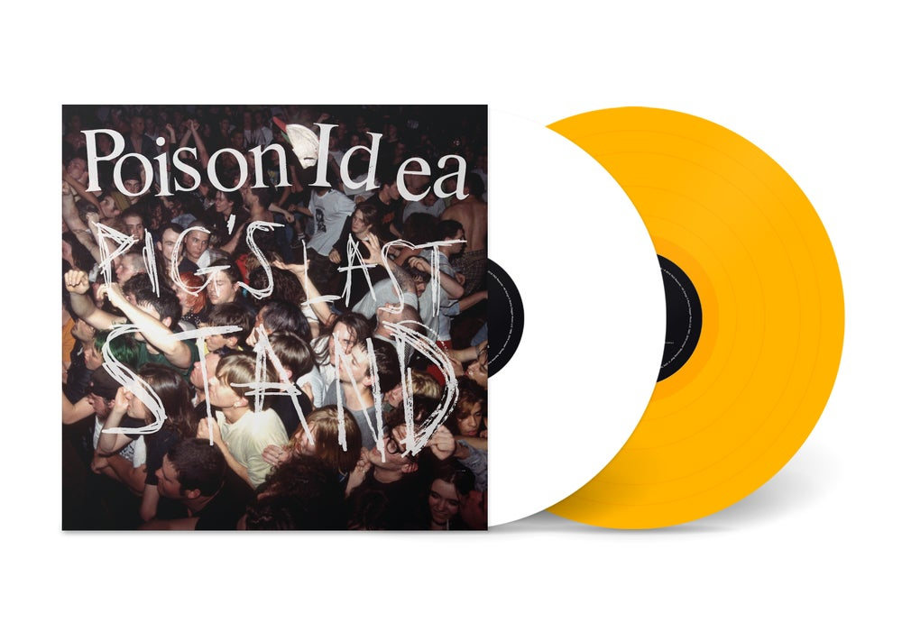 "Image of  POISON IDEA - ""Pig's Last Stand"" 2xLP w/Poster & DVD (LTD COLOR VINYL)"