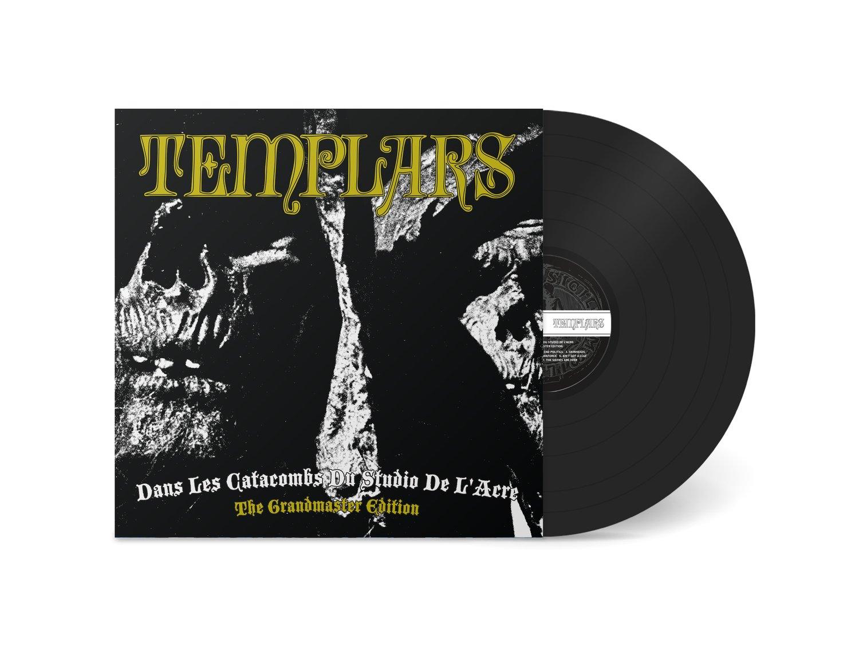 """Image of the TEMPLARS - """"Dans Les Catacombs Du Studio De L'Acre: The Grandmaster Edition"""" LP (180g)"""