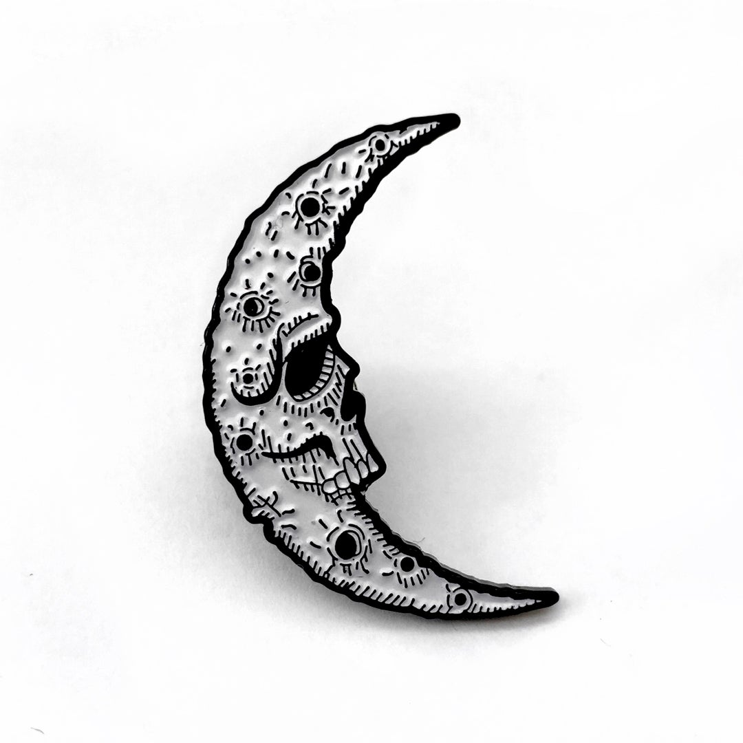 Image of Sacred Moon Soft Enamel Pin