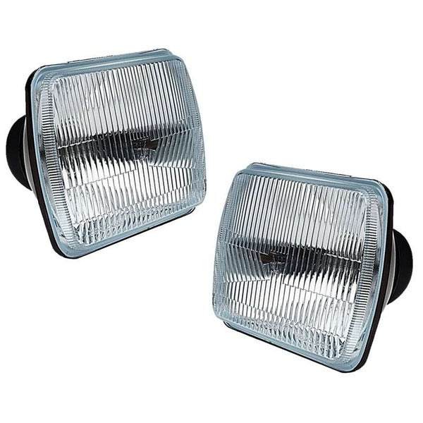 Image of (2) 7X6 OEM (Stock style housings) INCLUDING 6K LED High & Low