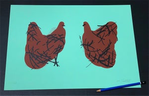 Image of Two Chickens