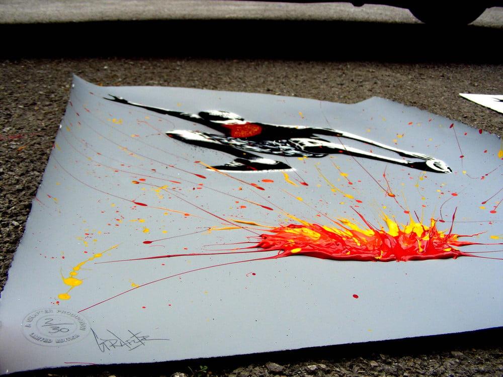 """Image of """"Bomb It...."""" - Grey."""