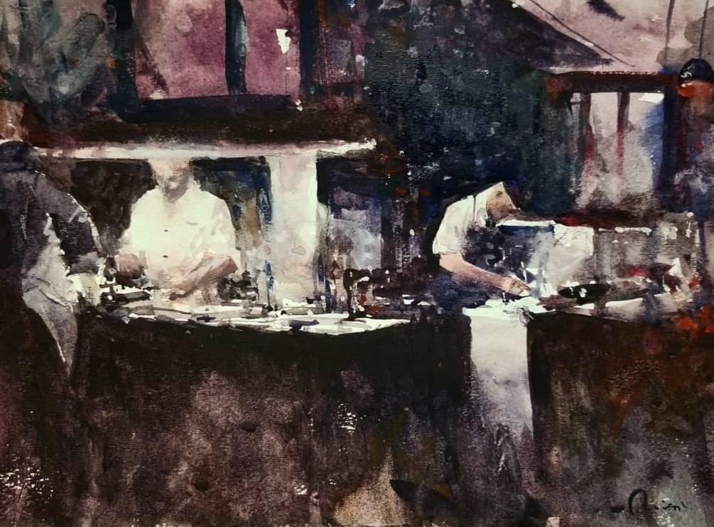 Image of Alo restaurant prints
