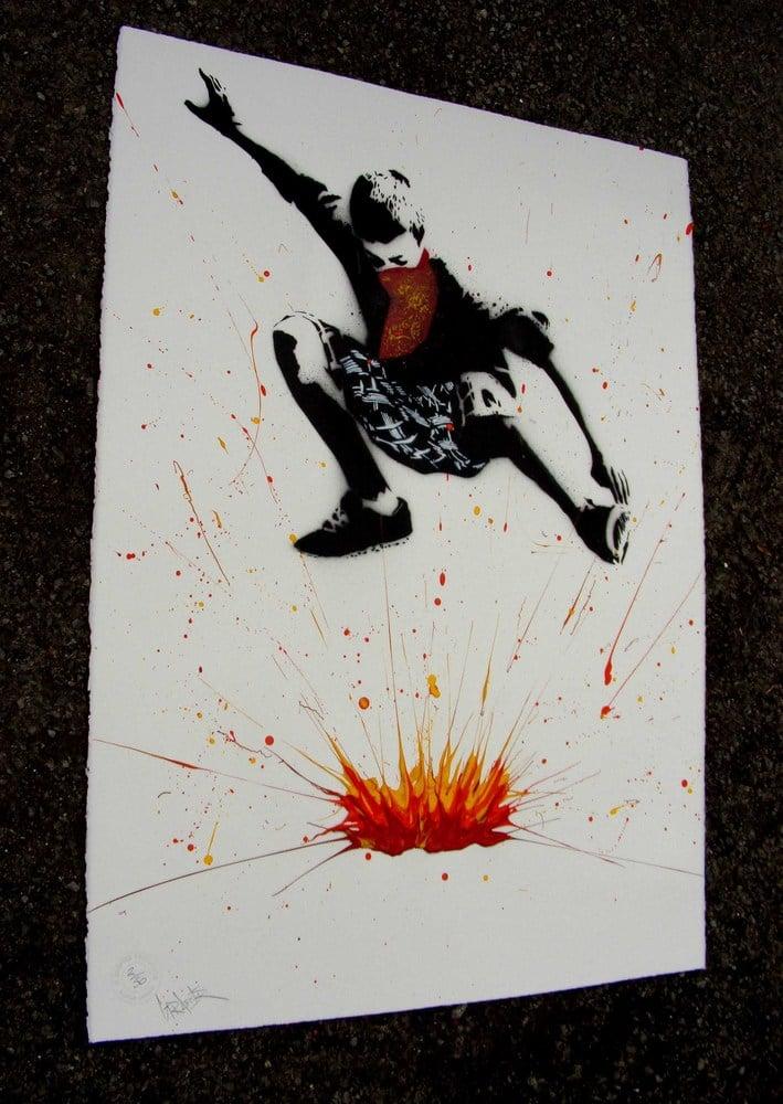 "Image of ""Bomb It...."" - White"